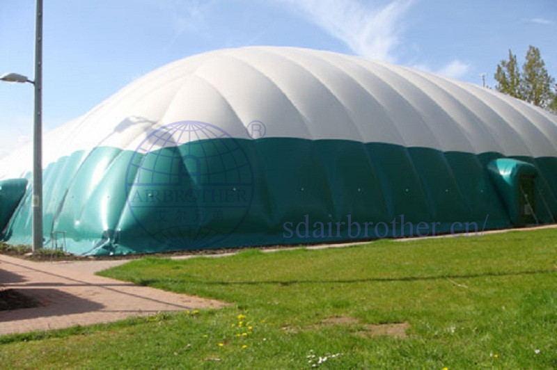比利时气膜网球馆-气膜建筑案例