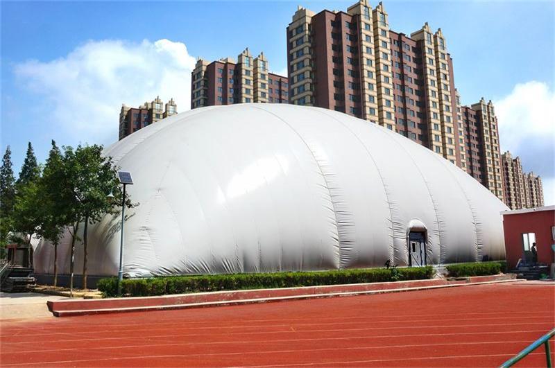 崂山气膜体育馆——气膜建筑案例